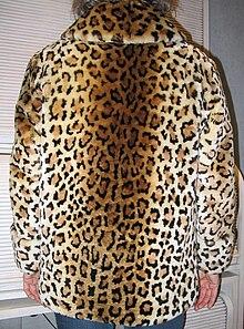 Lamb jacket with leopard print backside.JPG