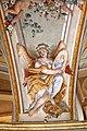 Lamporecchio, villa rospigliosi, interno, salone di apollo, con affreschi attr. a ludovico gemignani, 1680-90 ca., segni zodiacali, vergine 02.jpg