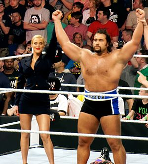 WrestleMania 31 - In his WrestleMania debut, Rusev lost the United States Championship to John Cena in his first pinfall loss since he debuted in the WWE's main roster the previous year