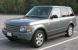 2002-2008 Range Rover photographed in Hyattsvi...