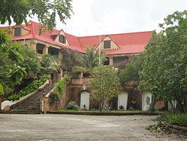 Landhuis Santa Barbara (Landhuis Heydecoper) op Curaçao diende als decor