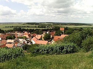 Landsberg, Saxony-Anhalt - Old town, view from Chapel Hill