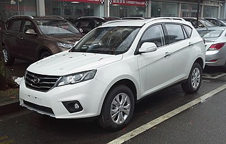 Landwind - Image: Landwind X5 01 China 2015 04 06