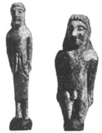 Lapis Niger - Dedicatory statues found at the Lapis Niger site
