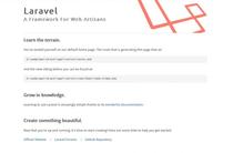 Laravel post-install screen.png