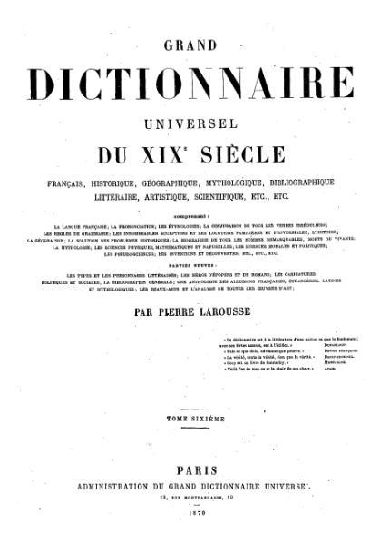 File:Larousse - Grand dictionnaire universel du XIXe siècle - Tome 6, part. 2, Dell-Dian.djvu