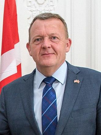 Prime Minister of Denmark - Image: Lars Løkke Rasmussen in 2017