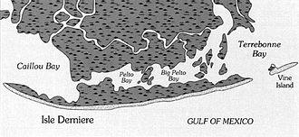 1856 Last Island hurricane - Image: Last Island 1853