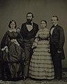 Laura Crittenden Sanchez, Ramon Sanchez, Alexander P. Crittenden and Ann Churchill Crittenden, ca. 1863.jpg