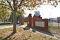 Lavington Urana Road Oval Memorial Gates 004.JPG