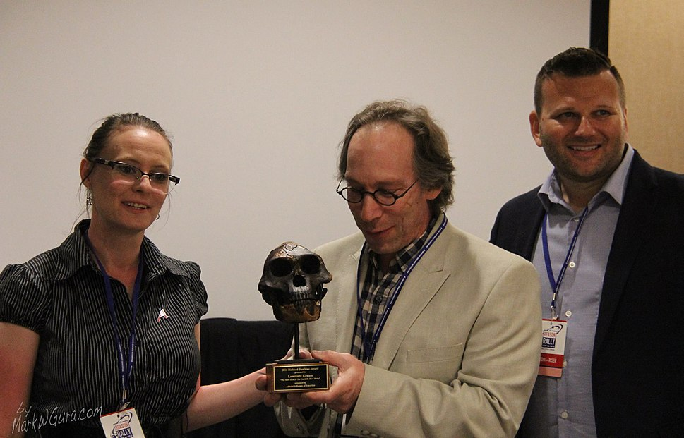 Lawrence Krauss Dawkins Award 1
