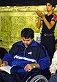 Laylat al-Qadr 19th Ramadan, Imam Reza shrine, Mashhad (12 8507210134 L600).jpg