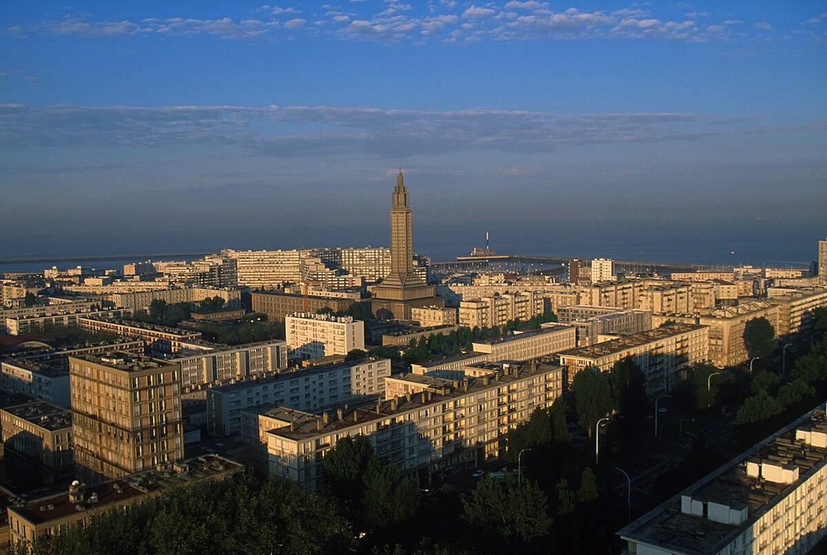 centre-ville reconstruit du havre — wikipédia