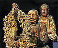 Le Bouddha enfant, Maitreya et Amitabha (musée Guimet) (15332725318).jpg