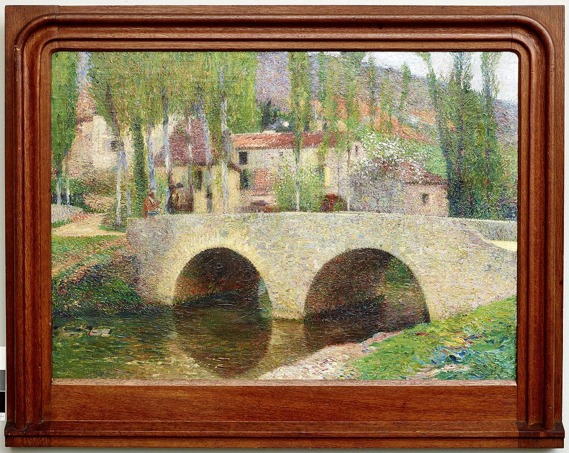 Le Pont à Labastide-du-Vert