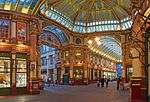 Leadenhall Market with Subsidiary Numbering