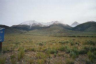Custer County, Idaho - Image: Leatherman peak 2 id