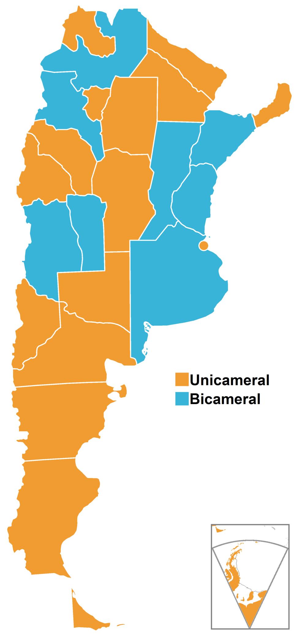 Legislaturas provinciales de Argentina