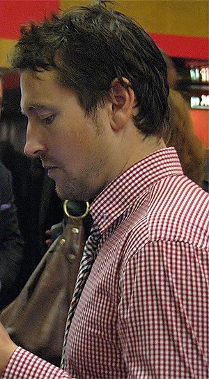 Leigh Whannell - Whannell at the Saw 3D premiere in October 2010