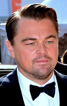 Leonardo DiCaprio looking away from the camera