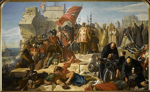 Levee du Siege de Malte by Charles Philippe Lariviere 1798 1876