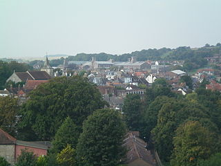 HM Prison Lewes Prison in Lewes in East Sussex, England
