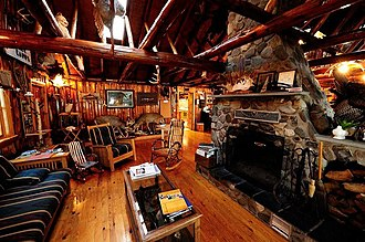 Sporting camp - The lodge at Libby Camps, Millinocket, Maine