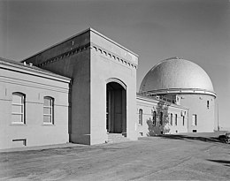 Description de l'image  Lick Observatory-West Front.jpg.