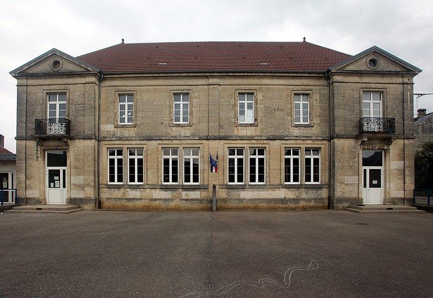 École à Liesle (Doubs).