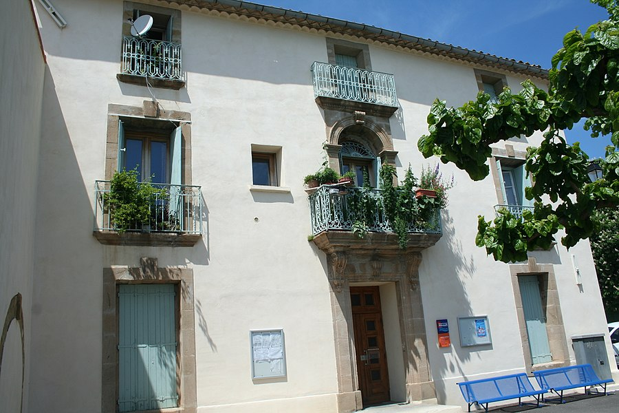 Lieuran-Cabrières (Hérault) - foyer rural Pierre Ollier