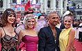 Life Ball 2014 red carpet 049 Amina Dagi Stephanie Meier-Stauffer Fadi Ines Merza.jpg