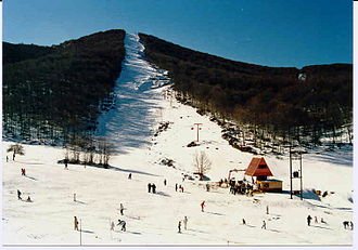 Florina (regional unit) - Pisoderi ski resort