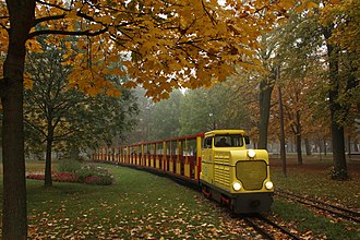 Prater - Locomotive D4 of Prater Liliputbahn