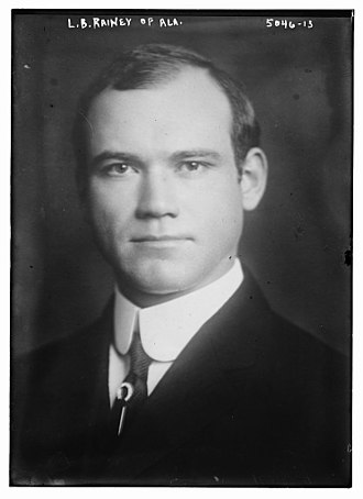 Alabama's 7th congressional district - Image: Lilius Bratton Rainey circa 1920