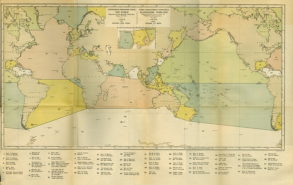 Limit of Oceans and Seas - 1st Edition - 1928