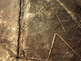 Nazca Spider geoglyph