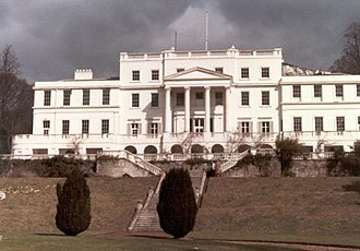 Linton Park - Linton Park house from the south