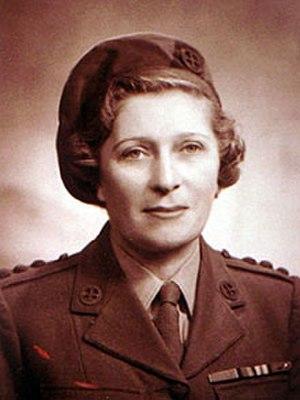 Lise de Baissac - In FANY uniform after joining SOE.