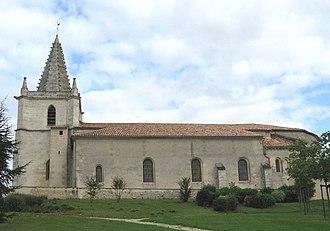 Listrac-Médoc - Image: Listrac Médoc, Gironde, église Saint Martin bu IMG 1416
