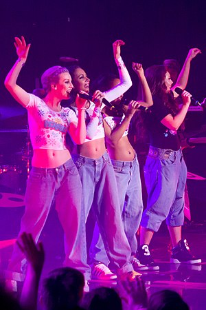 "Wings (Little Mix song) - Little Mix performing ""Wings"" during their 2013 DNA Tour."