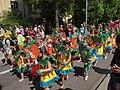 Little samba girls at Kallio kukkii 2016.jpg