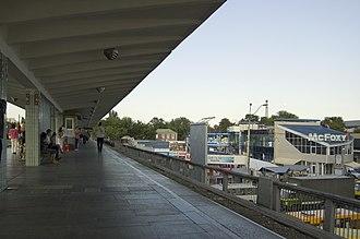 Livoberezhna (Kiev Metro) - Station platform