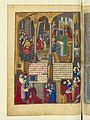 Livre des faiz monseigneur saint Loys - BNF Fr2829 f83v (miracles à Saint-Denis).jpg