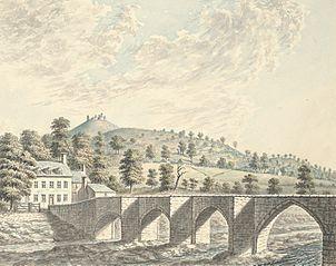 Llangollen, Castle Dinas Bran