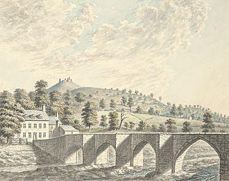 Llangollen - Llangollen Bridge, 1793