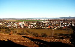 Skyline of Loštice