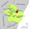 Localització de Benifairó de les Valls respecte del Camp de Morvedre.png