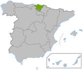 País Vasco en España