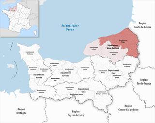 Arrondissement of Dieppe Arrondissement in Normandy, France