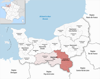 Arrondissement of Mortagne-au-Perche Arrondissement in Normandy, France